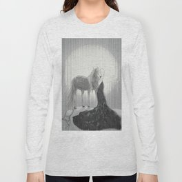 Our Hearts In the Moonlight  Long Sleeve T-shirt