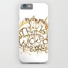 Something Wicked Macbeth Shakespeare Illustration iPhone 6s Slim Case