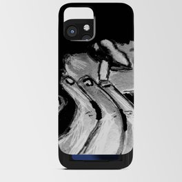 Michael Smoking B&W iPhone Card Case