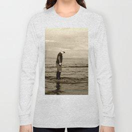 A Boy and The Sea Long Sleeve T-shirt