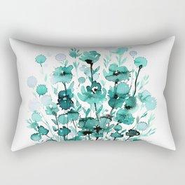 Floral Charm No.1K by Kathy Morton Stanion Rectangular Pillow