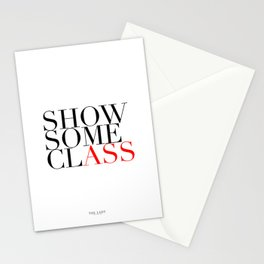 Show Some Class Stationery Cards