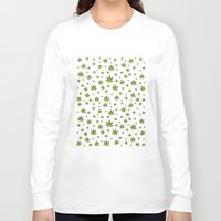 weed Long Sleeve T-shirts featuring Weed Weed Weed by Spyck