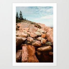 Dreams of Sea and Sky - Travel Photography - Maine coast - New England Photo Art Print