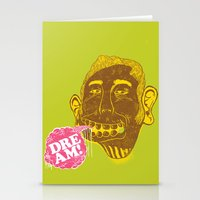dreamer Stationery Cards featuring Dreamer by Oga Mendonça