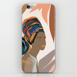 Women with the Turbans iPhone Skin