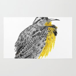 Eastern meadowlark Rug