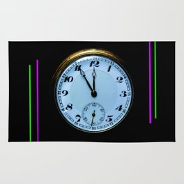 Time is Money Rug