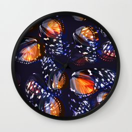 Abstract Butterfly Pattern #2 Wall Clock
