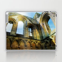 Glastonbury Abbey  Laptop & iPad Skin