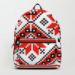 Floralline Red Backpack