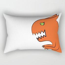 Dino-monster, the cat Rectangular Pillow