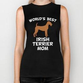 World's Best Irish Terrier Mom Biker Tank