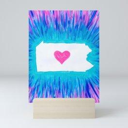 Pennsylvania State Pride Mini Art Print