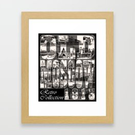 Old Moscow Framed Art Print