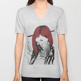 Redheads do it better ;) Unisex V-Neck