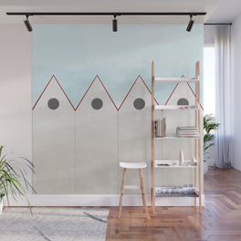 Simple Housing - love them all  Wall Mural