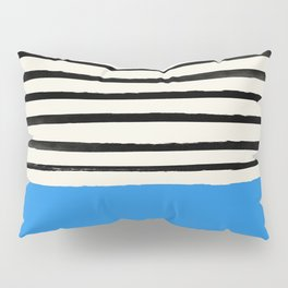 Ocean x Stripes Pillow Sham