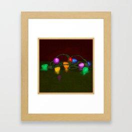 All Lit Up Framed Art Print