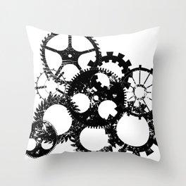 Industrial 3 Throw Pillow