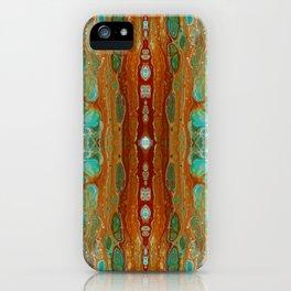 aqua 3 iPhone Case