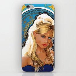 Art Nouveau Girl iPhone Skin