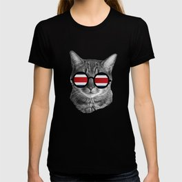 Funny Cat T-Shirt - Costa Rica T-shirt
