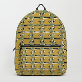 Mud Cloth Tribal Pattern Backpack