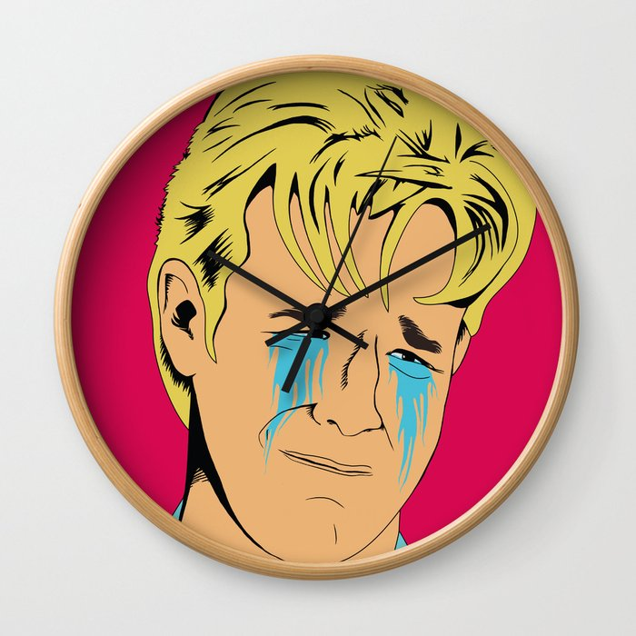 Crying Icon #1 - Dawson Leery Wall Clock