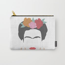 Kahlo Carry-All Pouch