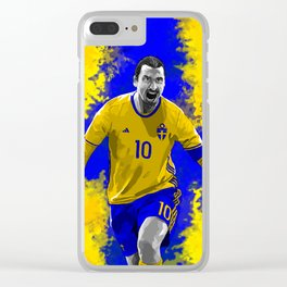 Zlatan Ibrahimovic - Sweden Clear iPhone Case