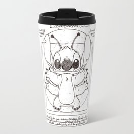 vitruvian stitch Travel Mug