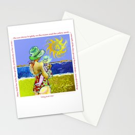 'Mary and Max' (Saw Sea Art Series) Stationery Cards