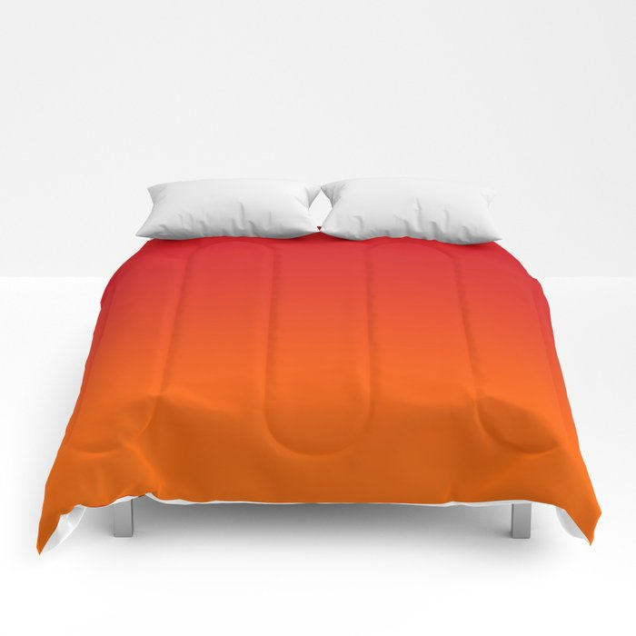 Sunset Ombre Comforters