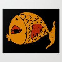Pesce Art Print