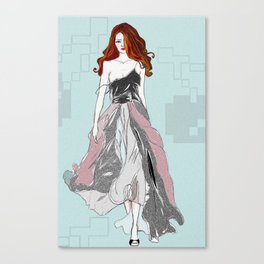 Red Head Swagger Canvas Print