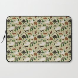 Wild White Woods Laptop Sleeve