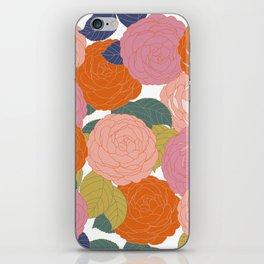 Flowers In Full Bloom iPhone Skin
