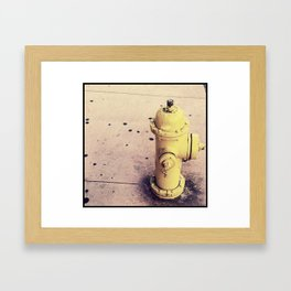 Next to you I need to be cooled down Framed Art Print