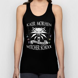Kaer Morhen Witcher School Unisex Tank Top