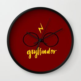 Gryffindor Wall Clock