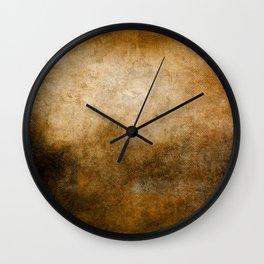 Abstract Cave Wall Clock