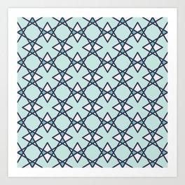 Graphic Art Pattern-P2-C6 Art Print