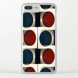 Jiango 1 Clear iPhone Case