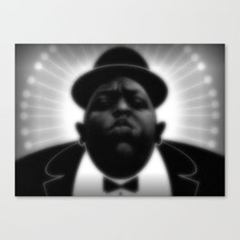 BIGGIE  Canvas Print