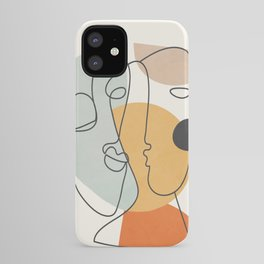 Abstract Faces 30 iPhone Case