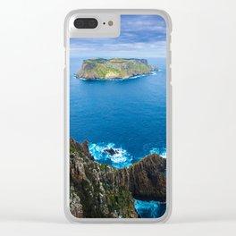 Tasman Island Clear iPhone Case