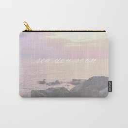 Sea You Soon Sunset Carry-All Pouch