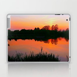 The beauty of a Sunset.  Laptop & iPad Skin