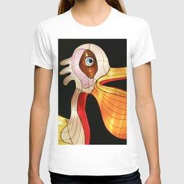 Pelican eats fish T-shirt
